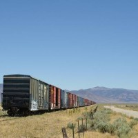 Stored Box Cars