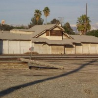 Southern Pacific Colton depot & express.