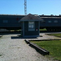 Bluegrass Railroad Museum Cabooses