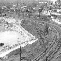 Construction of Revised Gulf Curve, Little Falls
