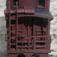 N Scale NP 1200 Series Caboose