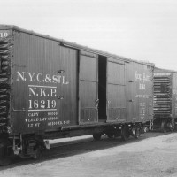 NKP DS auto Boxcars 5/1927