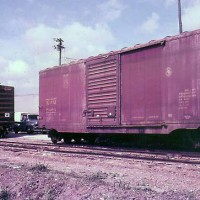 Natl Rwy of Mexico boxcar (NdeM)
