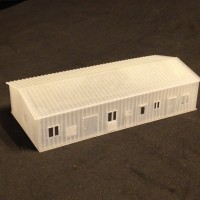 Small Wharehouse Z scale