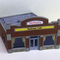 Cafe - kit bash