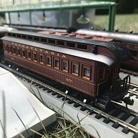 PRR 1890s Wooden Carrige