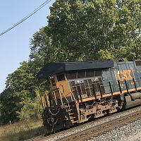 CSX Transportation Locomotive Rear End