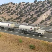 Royal Models tanker truck