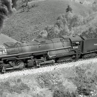 Northern Pacific Z-8 on Bozeman Pass