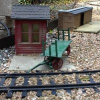 1:22.5 REA Baggage Cart