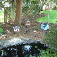 Drexel Hill Central Garden Railroad Overall