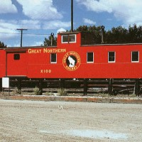 Great Northern Caboose X181