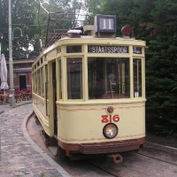 Tram from The Hague, 23 july 2006