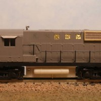 BCR RS-10 No. 581 - RH Side View