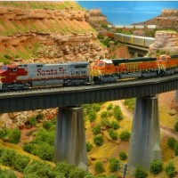 BNSF intermodal  on Somewhere West
