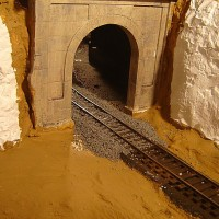 Ballasted Tunnel Track 3