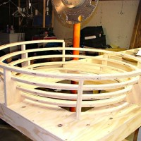 Spiral helix mocked up, opposite view