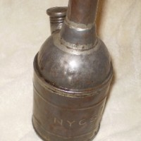 New York Central oil can