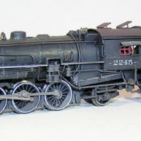 Northern Pacific Q-5 Weathered