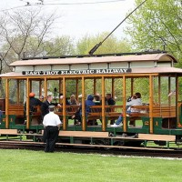 Traction Parade East Troy Trolley Museum