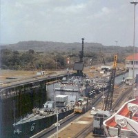 Working at The Panama Canal