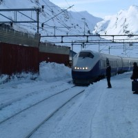 train from Myrdal to Oslo