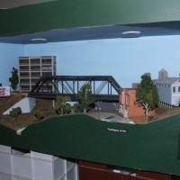 Diorama from old layout