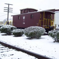 Ex-C&O, Currently-PRR 76 Caboose