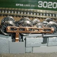 PRR Baldwin BP60 Centipede N-scale kitbash
