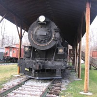 Western Maryland  202 Pacific Locomotive