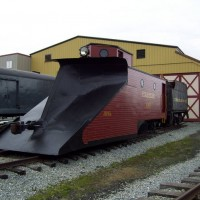 Strasburg Railroad Snowplow