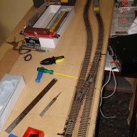 Cork and first rails