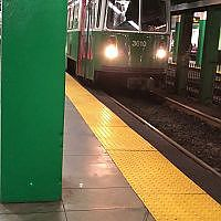 [Video] Boston Green Line Train Arriving at Station