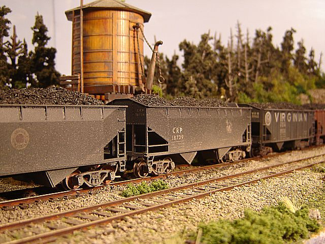 Athearn Coal Drag CRP hopper 18739