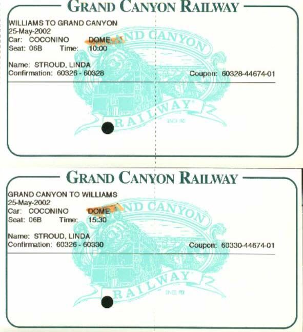 Grand Canyon Tickets
