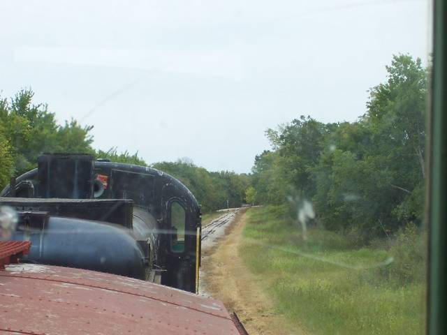Midland RR--almost a curve!