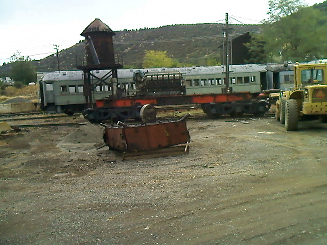 Salvaging YW's 1953 Alco MRS-1 #244