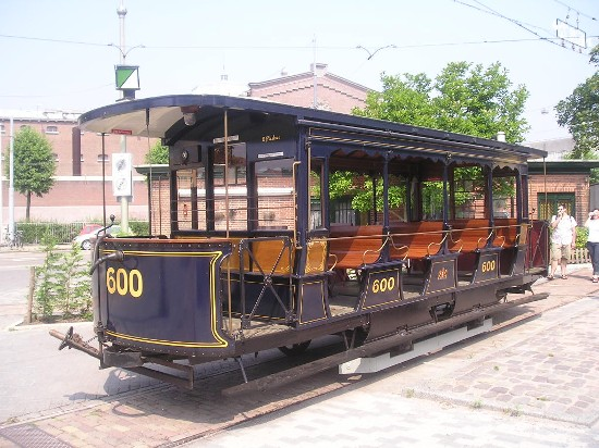 Tram carriage, 23 july 2006