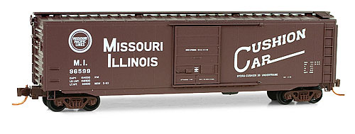 Missouri-Illinois Special Run Car